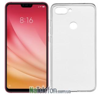 Ультра тонкий силиконовый чехол 0.3 mm для Xiaomi Mi8 Lite White
