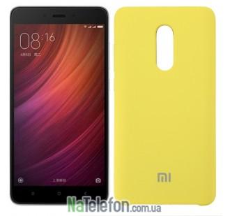 Чехол Original Soft Case на Xiaomi Redmi Note 4x Золотой