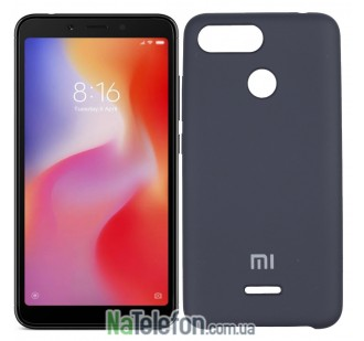 Чехол Original Soft Case для Xiaomi Redmi 6 Чёрный