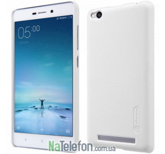 Чехол NILLKIN Super Frosted Shield для Xiaomi Redmi 3 White