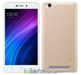 Чехол NILLKIN Super Frosted Shield для Xiaomi Redmi 3 Gold