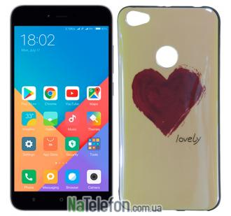 Чехол U-Like Picture series для Xiaomi Redmi Note 5a Prime Heart Blue