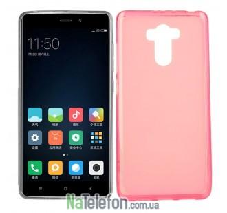 Силиконовый чехол Original Silicon Case Xiaomi Redmi 4/4 Prime Pink
