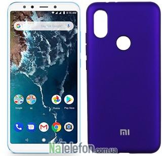 Чехол Original Soft Case для Xiaomi Mi6x/Mi A2 Фиолетовый FULL
