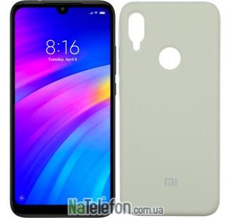 Чехол Original Soft Case для Xiaomi Redmi Note 7 Серый FULL