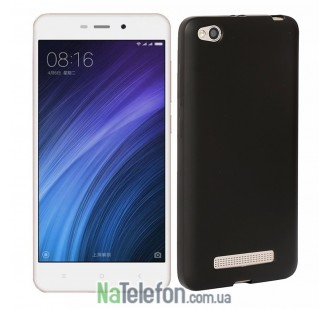 Силиконовый чехол Original Silicon Case Xiaomi Redmi 4a Black