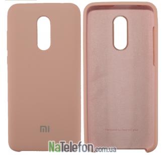 Чехол Original Soft Case на Xiaomi Redmi 5 Plus Розовый