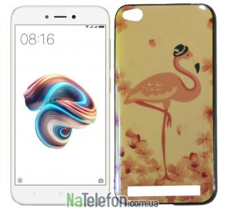 Чехол U-Like Picture series для Xiaomi Redmi 5a/Redmi Go Flamingo