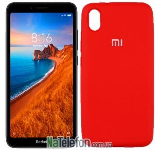 Чехол Original Soft Case для Xiaomi Redmi 7a Красный FULL