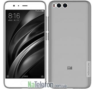 Чехол NILLKIN Nature TPU для Xiaomi Mi6 Grey