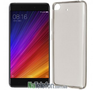 Чехол Ultra Thin Silicone Remax 0.2 mm для Xiaomi Mi5s Black