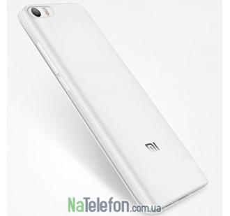 Силиконовый чехол Original Silicon Case Xiaomi Mi5c White