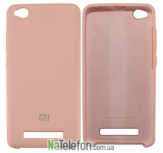 Чехол Original Soft Case для Xiaomi Redmi 4a Розовый