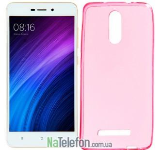 Силиконовый чехол Original Silicon Case Xiaomi Redmi Note 3 Pink