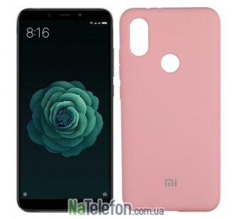 Чехол Original Soft Case для Xiaomi Mi6x/Mi A2 Розовый FULL