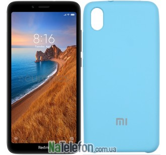 Чехол Original Soft Case для Xiaomi Redmi 7a Синий