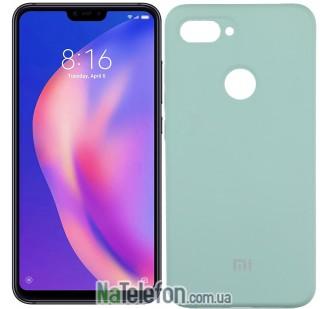 Чехол Original Soft Case для Xiaomi Mi8 Lite Светло голубой