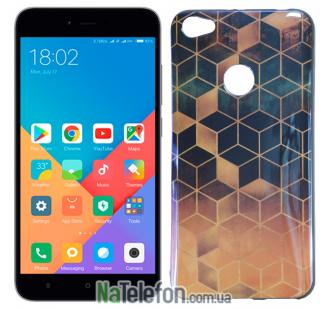 Чехол U-Like Picture series для Xiaomi Redmi Note 5a Prime Cube