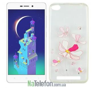 Чехол Lucent Diamond Case для Xiaomi Redmi 3 Iris (Pink)