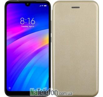 Чехол книжка U-Like Best для Xiaomi Redmi Note 7 Gold