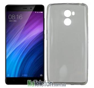 Чехол Ultra Thin Silicone Remax 0.2 mm для Xiaomi Redmi 4 Black