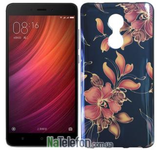 Чехол U-Like Picture series для Xiaomi Redmi Note 4x Flowers