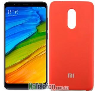 Чехол Original Soft Case на Xiaomi Redmi 5 Plus Красный
