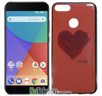 Чехол U-Like Picture series для Xiaomi Mi 5x/A1 Heart Pink