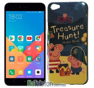 Чехол U-Like Picture series для Xiaomi Redmi 5a/Redmi Go Peppa Pig