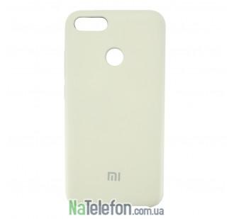Чехол Original Soft Case для Xiaomi Mi5x/A1 Молочный