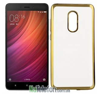 Чехол Remax Air Series для Xiaomi Redmi Note 4 Gold