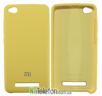 Чехол Original Soft Case для Xiaomi Redmi 4a Золотой