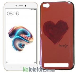 Чехол U-Like Picture series для Xiaomi Redmi 5a/Redmi Go Heart Pink