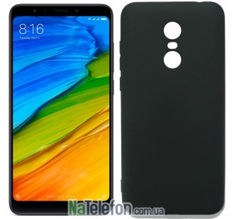 СИЛИКОН SMTT XIAOMI REDMI 5 PLUS (Чёрный)