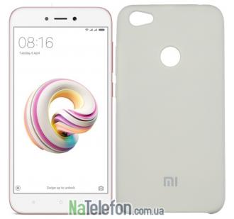 Чехол Original Soft Case для Xiaomi Redmi Note 5a Prime Молочный