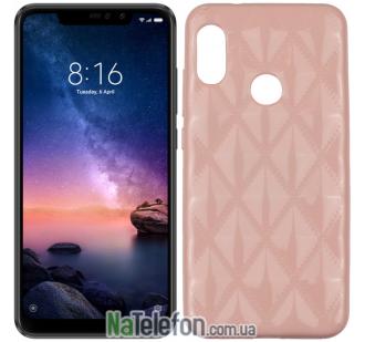 Чехол Baseus Rhombus Case для Xiaomi Redmi 6 Pro/Mi A2 Lite Light Pink