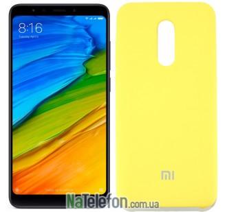 Чехол Original Soft Case на Xiaomi Redmi 5 Plus Золотой