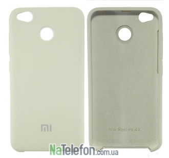 Чехол Original Soft Case для Xiaomi Redmi 4x Молочный