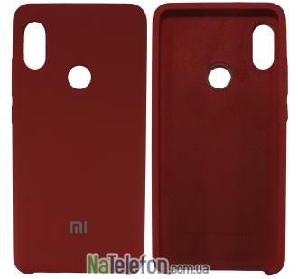 Чехол Original Soft Case для Xiaomi Redmi Note 5 Pro Красный