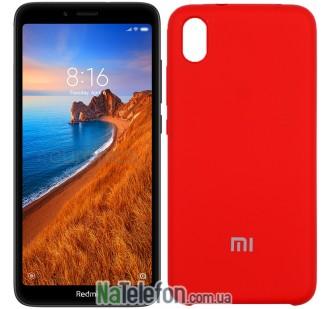 Чехол Original Soft Case для Xiaomi Redmi 7a Красный
