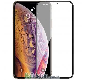 Защитное стекло для APPLE iPhone Xs Max (0.3 мм, 4D/5D черное)