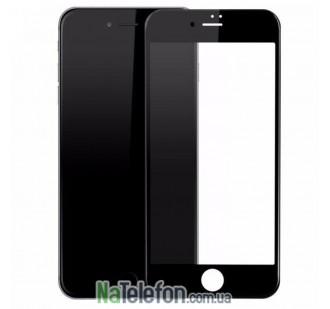 Защитное стекло для APPLE iPhone 6 (0.3 мм, 4D/5D матовое чёрное)