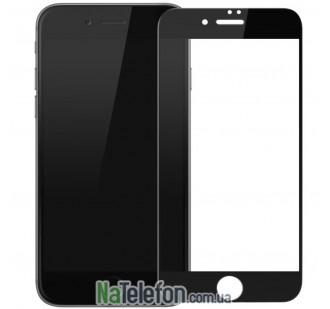Защитное стекло для APPLE iPhone 7/8 (0.3 мм, 4D/5D матовое чёрное)