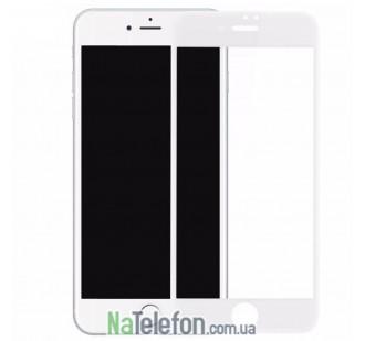 Защитное стекло Usams для APPLE iPhone 6 (0.15 мм, 3D Fiber белое)