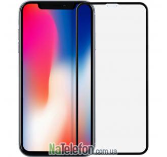 Защитное стекло для APPLE iPhone Xr (0.3 мм, 4D/5D черное)