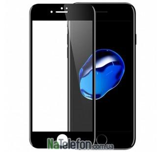 Защитное стекло для APPLE iPhone 6 Plus (0.3 мм, 4D/5D чёрное)