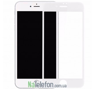 Защитное стекло для APPLE iPhone 6 Plus (0.3 мм, 4D/5D белое) CH