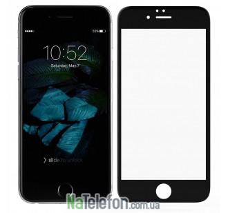 Защитное стекло Usams для APPLE iPhone 6 (0.15 мм, 3D Fiber чёрное)