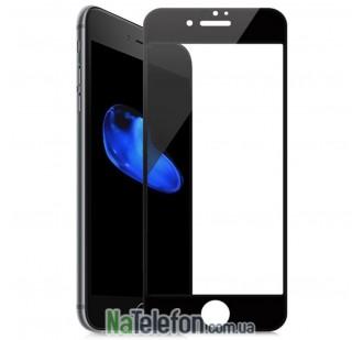 Защитное стекло TigerGlass для APPLE iPhone 7 (0.3 мм, 3D чёрное)