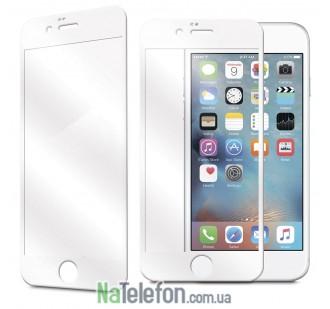 Защитное стекло TigerGlass для APPLE iPhone 6 (0.3 мм, 3D белое)